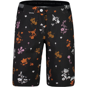 Maloja NeisaM. Bedrukte Multisport Shorts Dames, moonless mountain meadow